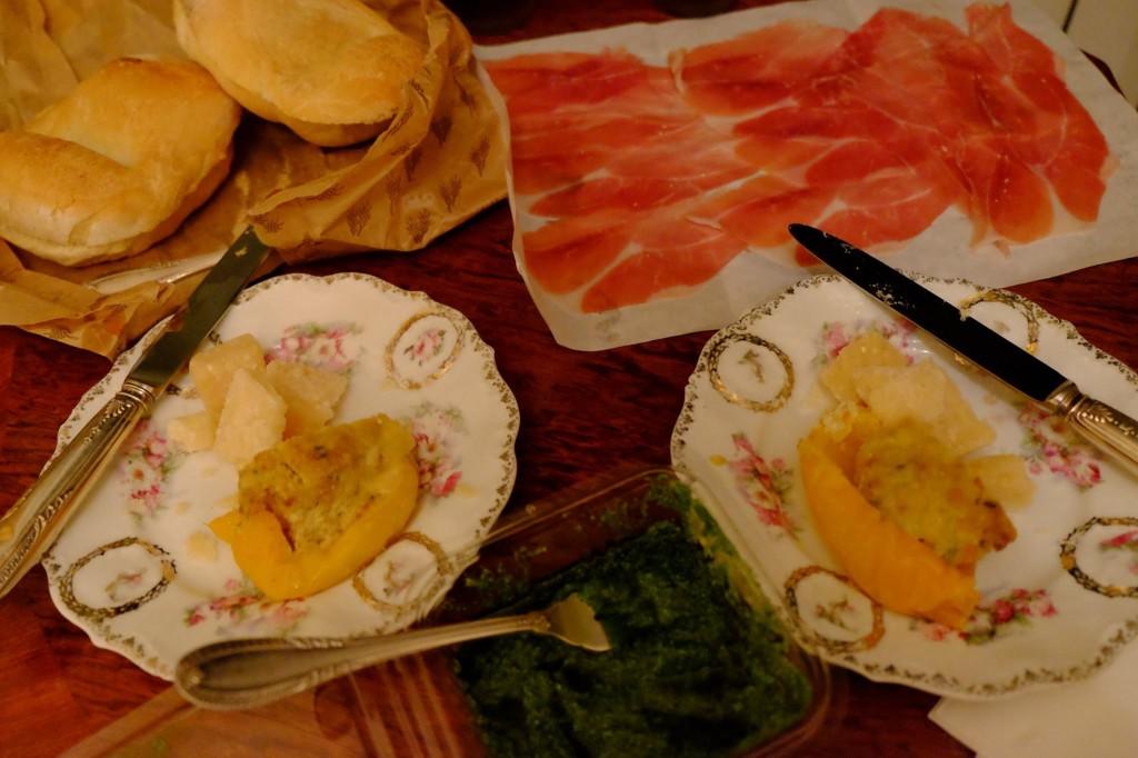 イタリア、ジェノヴァでの夕食 - 岡田光世